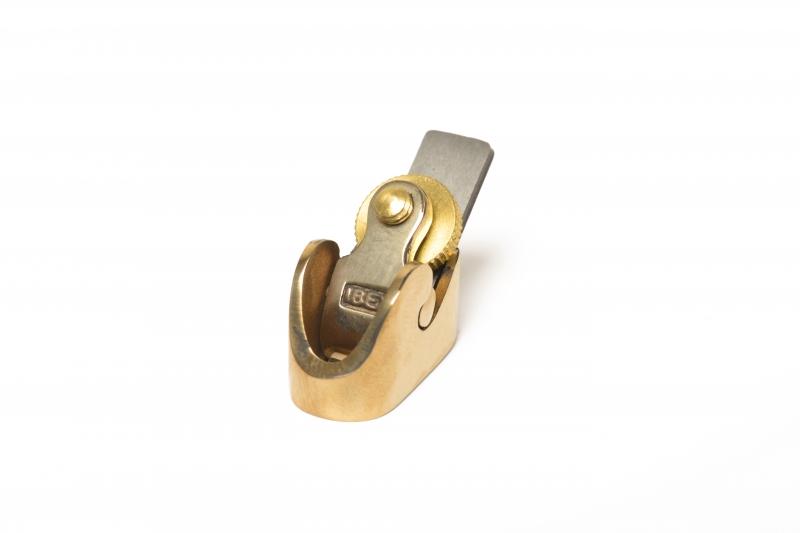 IBEX Handhobel, flache Sohle, 8mm Messerbreite